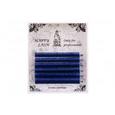 Ресницы синие MINI - 6 линий - MIX