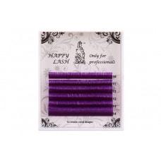 Ресницы фиолетовые MINI - 6 линий - MIX