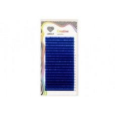 Ресницы синие - 20 линий - MIX
