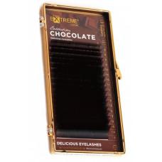 """Ресницы коричневые """"Chocolate Truffle"""", MIX"""