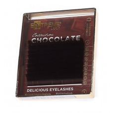 """Вії коричневі """"Chocolate Truffle"""", MINI"""