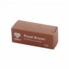 Хна для бровей Royal Brown, 1 капсула
