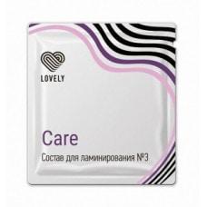 """Состав для ламинирования №3 """"Care"""", 1 мл"""