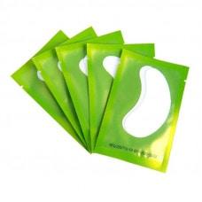 Патчи для изоляции ресниц зелёные(1пара)
